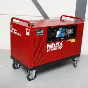 Mosa 6000 watt aggregaat generator verhuur