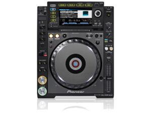 Pioneer CDJ 2000 Nexus cd-speler van bovenaf te huur