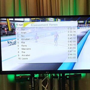 65 inch televisie scherm op een statief voor verhuur