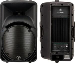 makkie srm450v2 speaker voor en achterkant voor verhuur