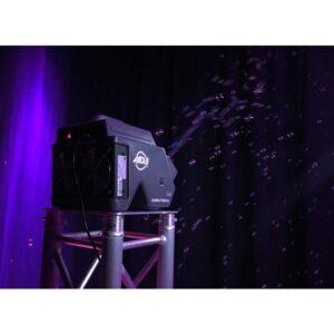 bellenblaas machine met lampen huren